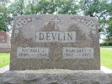 DEVLIN, MARGARET J. - Franklin County, Ohio | MARGARET J. DEVLIN - Ohio Gravestone Photos