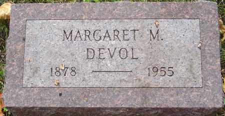 DEVOL, MARGARET - Franklin County, Ohio | MARGARET DEVOL - Ohio Gravestone Photos