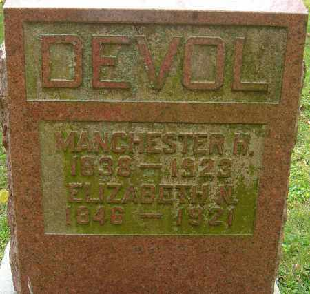 DEVOL, MANCHESTER HOWE - Franklin County, Ohio | MANCHESTER HOWE DEVOL - Ohio Gravestone Photos