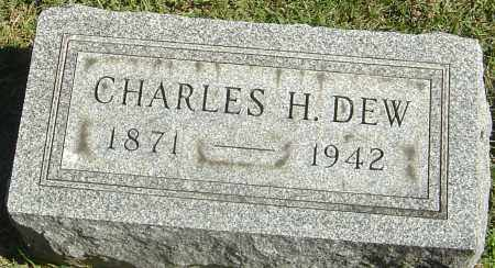 DEW, CHARLES H - Franklin County, Ohio | CHARLES H DEW - Ohio Gravestone Photos