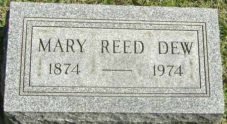 REED DEW, MARY - Franklin County, Ohio | MARY REED DEW - Ohio Gravestone Photos