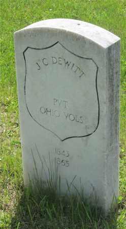 DEWITT, J. C. - Franklin County, Ohio | J. C. DEWITT - Ohio Gravestone Photos