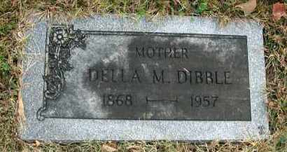 DIBBLE, DELLA M. - Franklin County, Ohio | DELLA M. DIBBLE - Ohio Gravestone Photos