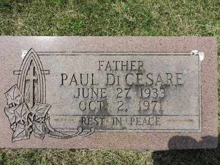 DICESARE, PAUL - Franklin County, Ohio | PAUL DICESARE - Ohio Gravestone Photos