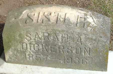 DICKSON, SARAH A - Franklin County, Ohio | SARAH A DICKSON - Ohio Gravestone Photos