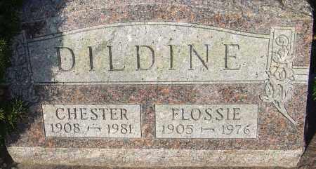 DILDINE, FLOSSIE - Franklin County, Ohio | FLOSSIE DILDINE - Ohio Gravestone Photos