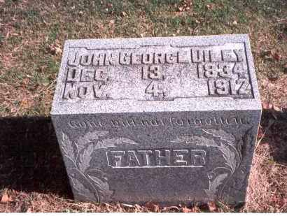 DILEY, JOHN GEORGE - Franklin County, Ohio | JOHN GEORGE DILEY - Ohio Gravestone Photos