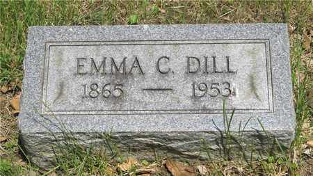 DILL, EMMA C. - Franklin County, Ohio | EMMA C. DILL - Ohio Gravestone Photos