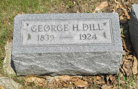 DILL, GEORGE H. - Franklin County, Ohio | GEORGE H. DILL - Ohio Gravestone Photos