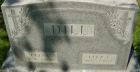 DILL, JAMES LYNAS - Franklin County, Ohio | JAMES LYNAS DILL - Ohio Gravestone Photos