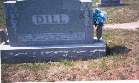 HERR DILL, MABEL - Franklin County, Ohio | MABEL HERR DILL - Ohio Gravestone Photos