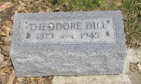 DILL, THEODORE - Franklin County, Ohio | THEODORE DILL - Ohio Gravestone Photos