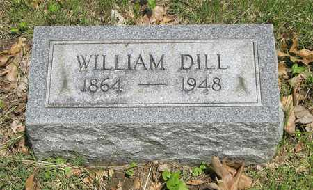 DILL, WILLIAM - Franklin County, Ohio | WILLIAM DILL - Ohio Gravestone Photos