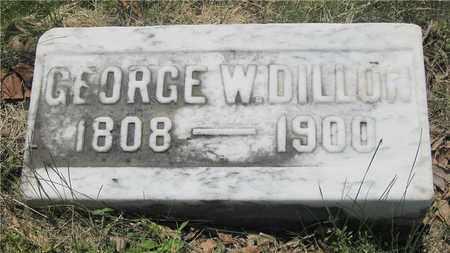 DILLON, GEORGE W. - Franklin County, Ohio | GEORGE W. DILLON - Ohio Gravestone Photos