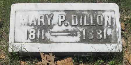 DILLON, MARY P. - Franklin County, Ohio | MARY P. DILLON - Ohio Gravestone Photos