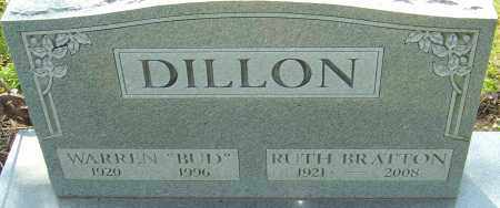 BRATTON DILLON, RUTH - Franklin County, Ohio | RUTH BRATTON DILLON - Ohio Gravestone Photos