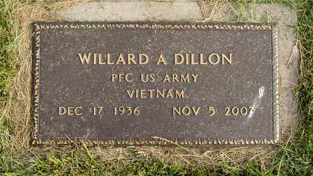 DILLON, WILLARD A. - Franklin County, Ohio | WILLARD A. DILLON - Ohio Gravestone Photos