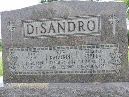 DISANDRO, SAM - Franklin County, Ohio | SAM DISANDRO - Ohio Gravestone Photos