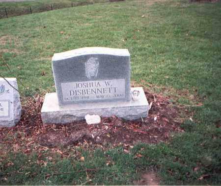 DISBENNETT, JOSHUA W. - Franklin County, Ohio | JOSHUA W. DISBENNETT - Ohio Gravestone Photos
