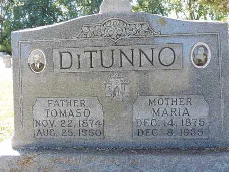 DITUNNO, TOMASO - Franklin County, Ohio | TOMASO DITUNNO - Ohio Gravestone Photos