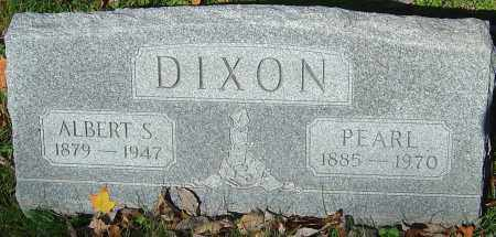 DIXON, ALBERT SEYMOUR - Franklin County, Ohio | ALBERT SEYMOUR DIXON - Ohio Gravestone Photos