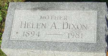 DIXON, HELEN A - Franklin County, Ohio | HELEN A DIXON - Ohio Gravestone Photos