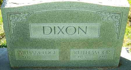 WOHR DIXON, RUTH - Franklin County, Ohio | RUTH WOHR DIXON - Ohio Gravestone Photos