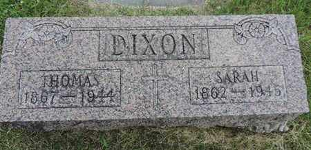 DIXON, SARAH - Franklin County, Ohio | SARAH DIXON - Ohio Gravestone Photos