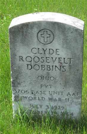 DOBBINS, CLYDE ROOSEVELT - Franklin County, Ohio | CLYDE ROOSEVELT DOBBINS - Ohio Gravestone Photos