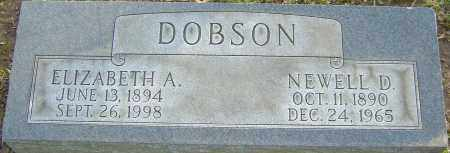 DOBSON, NEWELL - Franklin County, Ohio | NEWELL DOBSON - Ohio Gravestone Photos
