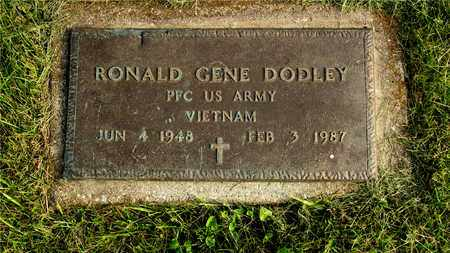 DODLEY, RONALD GENE - Franklin County, Ohio | RONALD GENE DODLEY - Ohio Gravestone Photos
