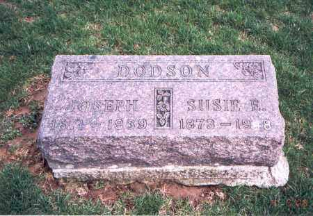 DODSON, SUSIE E. - Franklin County, Ohio | SUSIE E. DODSON - Ohio Gravestone Photos