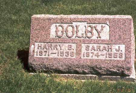DOLBY, HARRY B. - Franklin County, Ohio | HARRY B. DOLBY - Ohio Gravestone Photos