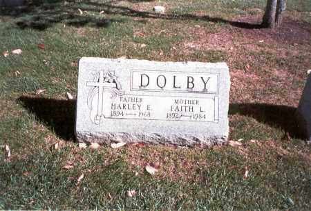 LONG DOLBY, FAITH L. - Franklin County, Ohio | FAITH L. LONG DOLBY - Ohio Gravestone Photos