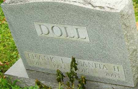 DOLL, JUANITA - Franklin County, Ohio | JUANITA DOLL - Ohio Gravestone Photos