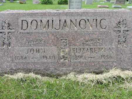 DOMIJANOVIC, ELIZABETH V. - Franklin County, Ohio | ELIZABETH V. DOMIJANOVIC - Ohio Gravestone Photos