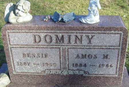 DOMINY, BESSIE - Franklin County, Ohio | BESSIE DOMINY - Ohio Gravestone Photos