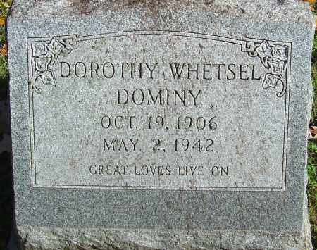DOMINY, DOROTHY - Franklin County, Ohio | DOROTHY DOMINY - Ohio Gravestone Photos