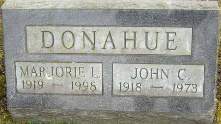 DONAHUE, JOHN C - Franklin County, Ohio | JOHN C DONAHUE - Ohio Gravestone Photos