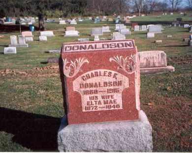 DONALDSON, CHARLES - Franklin County, Ohio | CHARLES DONALDSON - Ohio Gravestone Photos