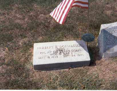 DONALDSON, HERBERT E. - Franklin County, Ohio | HERBERT E. DONALDSON - Ohio Gravestone Photos