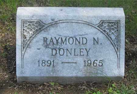DONLEY, RAYMOND N. - Franklin County, Ohio | RAYMOND N. DONLEY - Ohio Gravestone Photos
