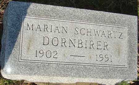 SCHWARTZ DORNBIRER, MARIAN - Franklin County, Ohio | MARIAN SCHWARTZ DORNBIRER - Ohio Gravestone Photos