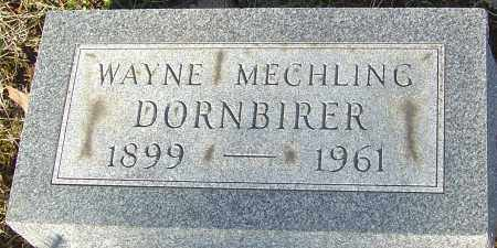 DORNBIRER, WAYNE - Franklin County, Ohio | WAYNE DORNBIRER - Ohio Gravestone Photos
