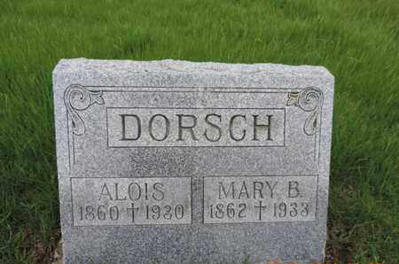 DORSCH, ALOIS - Franklin County, Ohio | ALOIS DORSCH - Ohio Gravestone Photos