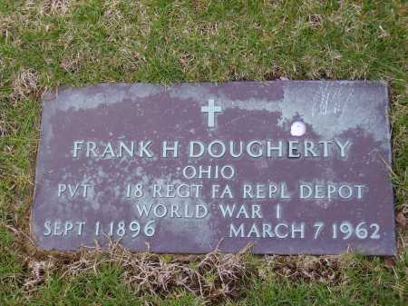 DOUGHERTY, FRANK H. - MILITARY - Franklin County, Ohio | FRANK H. - MILITARY DOUGHERTY - Ohio Gravestone Photos