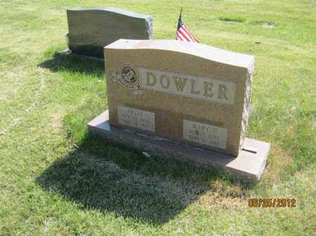 DONOHOE DOWLER, ANNA MARY - Franklin County, Ohio | ANNA MARY DONOHOE DOWLER - Ohio Gravestone Photos