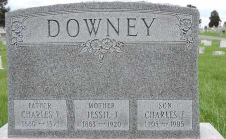 DOWNEY, JESSIE J - Franklin County, Ohio | JESSIE J DOWNEY - Ohio Gravestone Photos