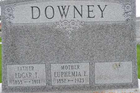 DOWNEY, EDGAR T - Franklin County, Ohio | EDGAR T DOWNEY - Ohio Gravestone Photos