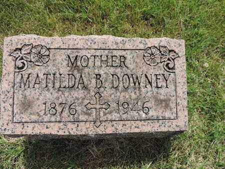 DOWNEY, MATILDA - Franklin County, Ohio | MATILDA DOWNEY - Ohio Gravestone Photos